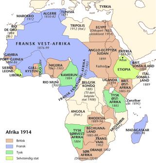 imperialisme kart Alle tiders historie: Kolonisering og nyimperialisme imperialisme kart